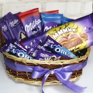 Подарочный набор Шоколад Милка ассорти