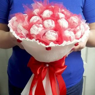 Букет из конфет Рафаэлло 30