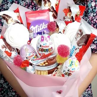 Букет з цукерок Ласунка