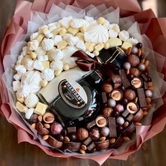 Букет з цукерок Інь янь