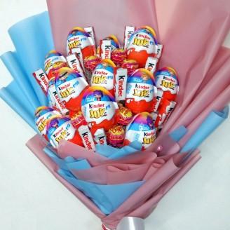 Букет из конфет Kinder boom