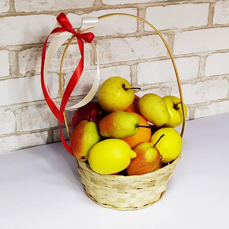 Подарочный набор Мини-корзина фруктов