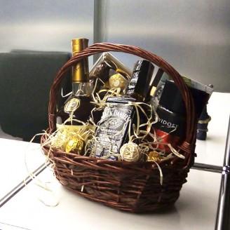Подарочный набор Корзина Роскошь