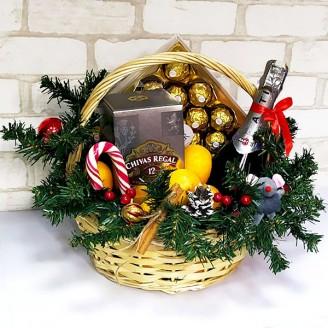 Подарочный набор Корзина Праздничная