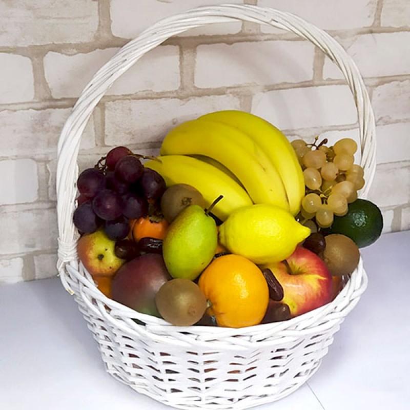 Подарочный набор Корзина с фруктами