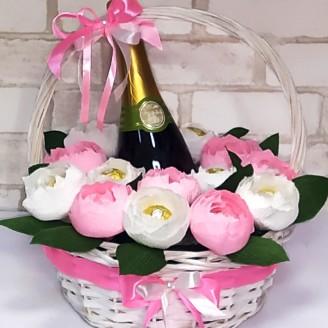 Подарунковий набір Солодкі рози та фраголіно