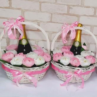 Подарочный набор Сладкие розы и фраголино