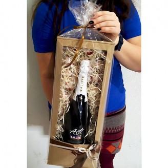 Подарочный набор Коробочка шампанское Asti и рафаэлло
