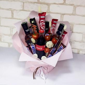 Подарунковий набір Black jack та шоколад