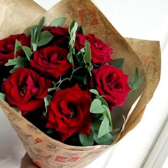 Подарочный букет Розы 7
