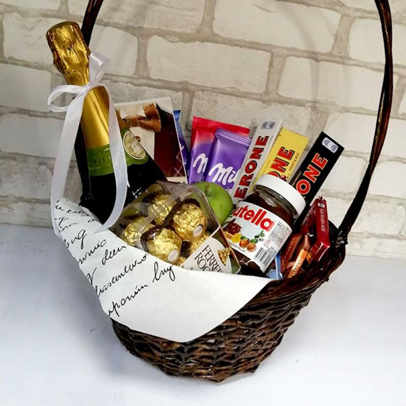 Подарочный набор Фраголино и шоколад