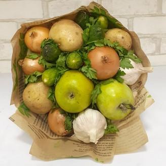Подарочный букет Овощи