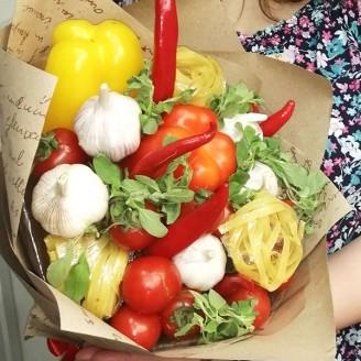 Подарунковий букет Овочі та паста