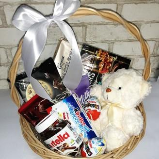 Подарочный набор Мишка и сладости