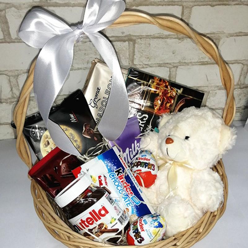 Подарунковий набір Ведмедик та солодощі
