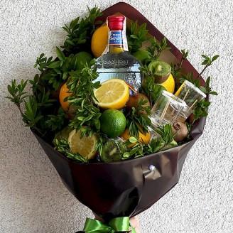 Подарунковий букет Текіла