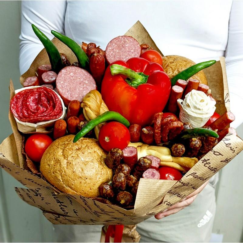 Подарунковий букет Ковбаски