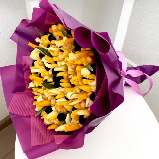 Подарочный букет Сырный бум