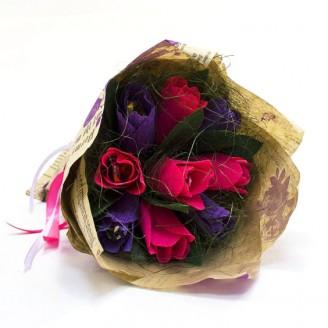 Букет из конфет Тюльпаны 9