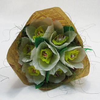 Букет из конфет Нарциссы 7