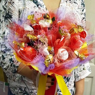 Букет из конфет Краски