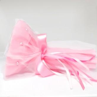 Букет из конфет Рафаэлло 15 розовый
