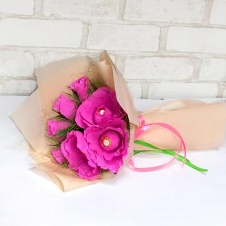 Букет из конфет Розы 7 Ферреро роше
