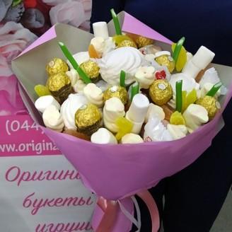 Букет из конфет Сладкое ассорти