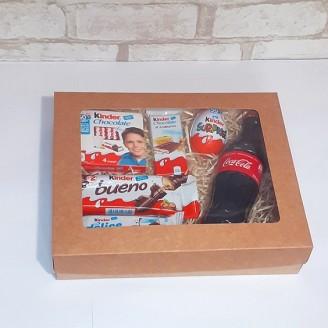 Подарунковий набір Kinder&coca-cola