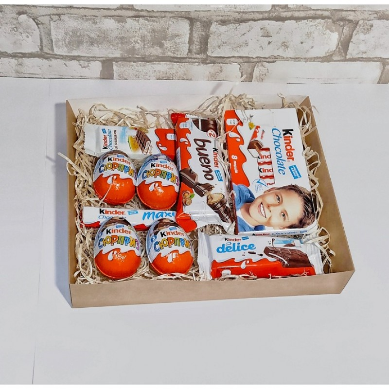 Подарочный набор Kinder surprise