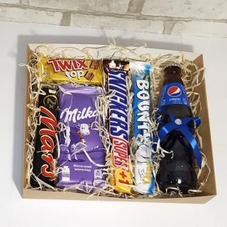 Подарочный набор Pepsi&шоколад