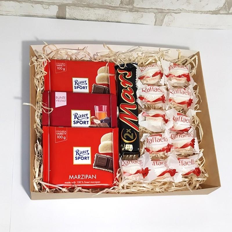 Подарочный набор Шоколадное удовольствие