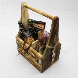 Подарунок для чоловіка Пивний набір в ящику