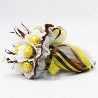 Букет з цукерок Лотоси 11