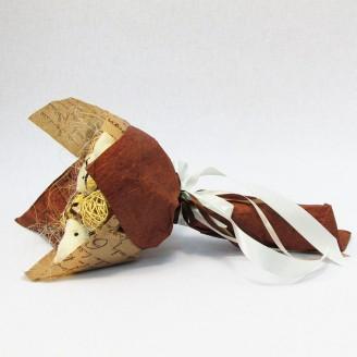 Букет з іграшок Ведмедики з цукерками Ферреро роше 3 крафт
